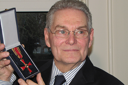 Tomi with the Order of Merit of the Federal Republic of Germany