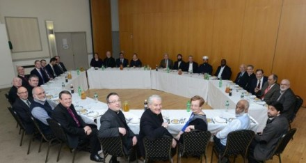 Ireland's faith leaders met at a meal organised by the Jewish Representative Council of Ireland to discuss religious turmoil across the globe.