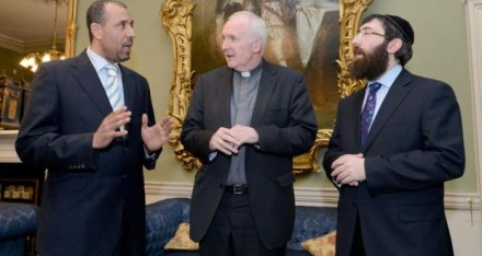 Dr. Ali Selim, Bishop Brendan Leahy, Rabbi Zalman Lent
